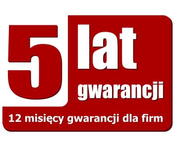 Gwarancja 60 miesiące