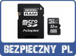 KARTA MICRO SD GOODRAM UHS1 32GB CL10 [2565]